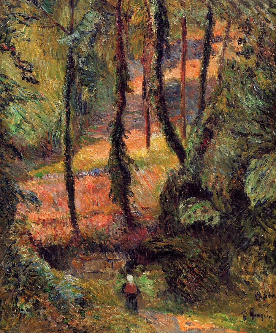 Wooded path 1884