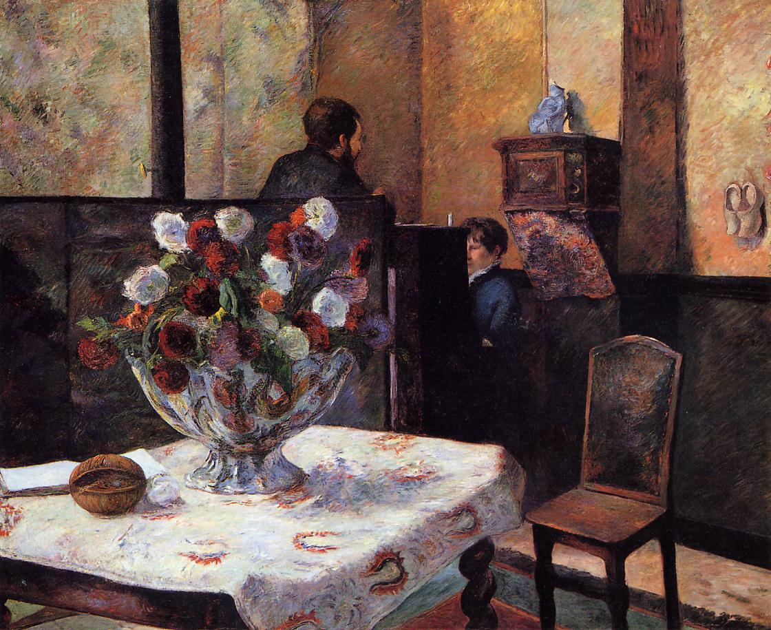 Interior of the Painter's House, rue Carcel 1881